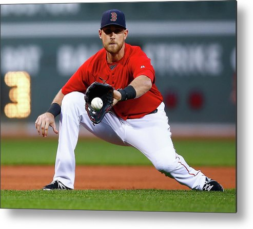 American League Baseball Metal Print featuring the photograph Wills by Jared Wickerham