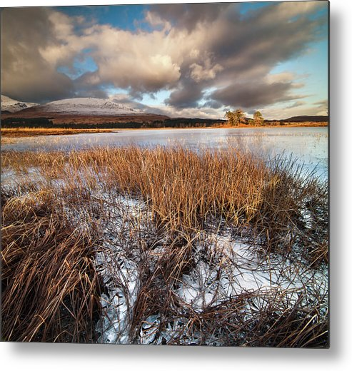 Tranquility Metal Print featuring the photograph Loch Tulla by Image By Peter Ribbeck