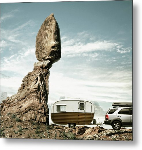 Camping Metal Print featuring the photograph Careless Camping by Colin Anderson
