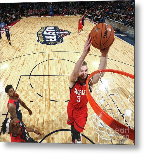 Event Metal Print featuring the photograph Domantas Sabonis by Nathaniel S. Butler