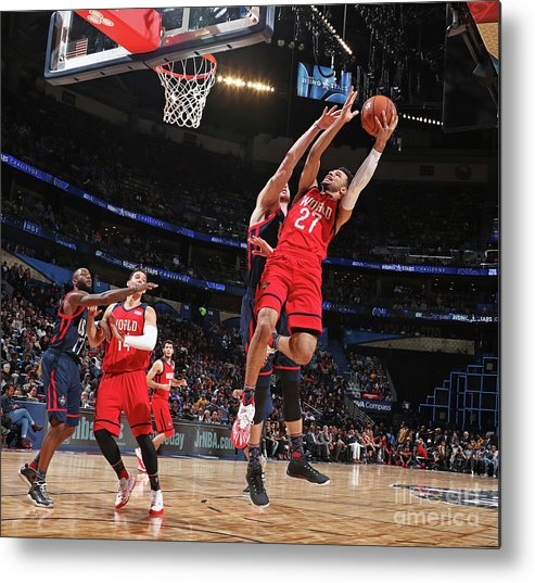 Event Metal Print featuring the photograph Jamal Murray by Nathaniel S. Butler