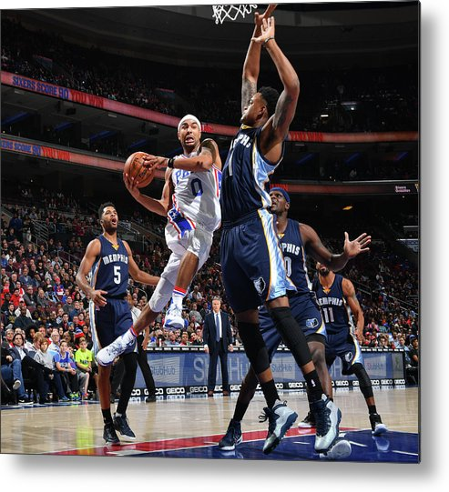 Nba Pro Basketball Metal Print featuring the photograph Jerryd Bayless by Jesse D. Garrabrant