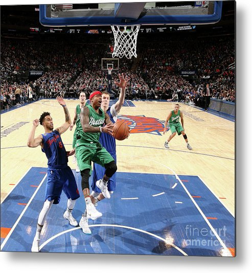 Nba Pro Basketball Metal Print featuring the photograph Isaiah Thomas by Nathaniel S. Butler