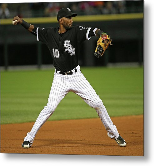 People Metal Print featuring the photograph Alexei Ramirez by Jonathan Daniel