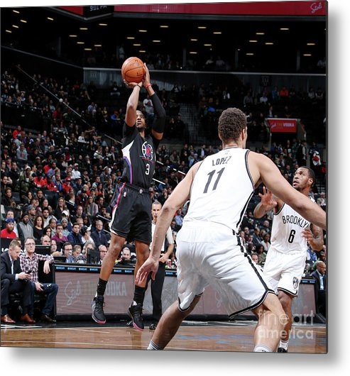 Nba Pro Basketball Metal Print featuring the photograph Chris Paul by Nathaniel S. Butler