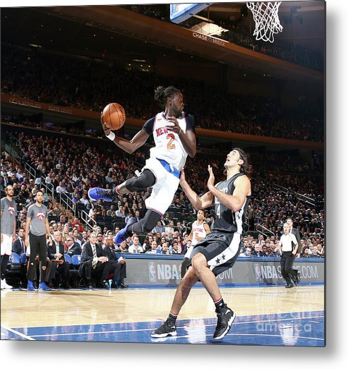 Nba Pro Basketball Metal Print featuring the photograph Maurice Ndour by Nathaniel S. Butler