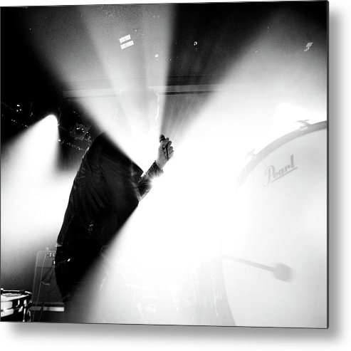 Guitarist Metal Print featuring the photograph Imagine Dragons At The Viper Room by Stephen Albanese