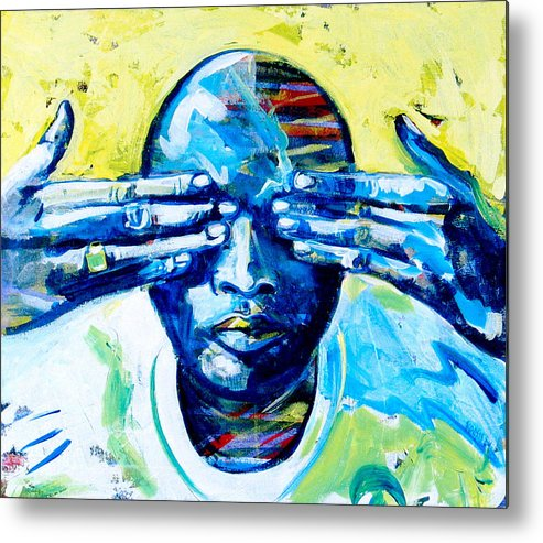 Love Metal Print featuring the painting In My Dreams by Rollin Kocsis