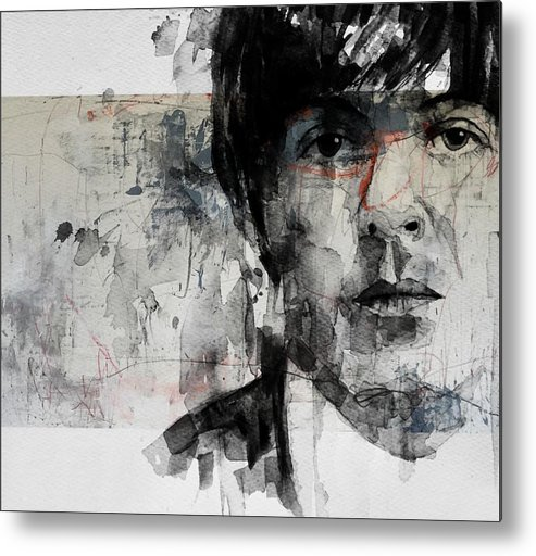 Paul Mccartney Metal Print featuring the mixed media The Long And Winding Road by Paul Lovering