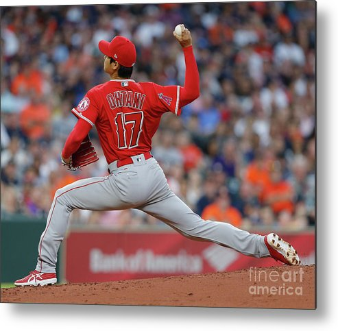 Second Inning Metal Print featuring the photograph Los Angeles Angels Of Anaheim V by Bob Levey