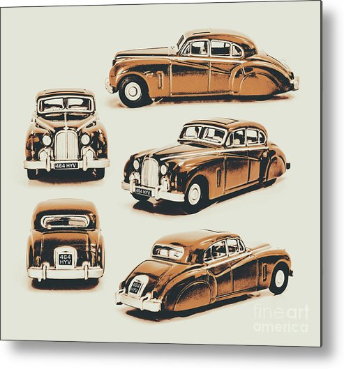 Retro Metal Print featuring the photograph Retro Rides by Jorgo Photography - Wall Art Gallery