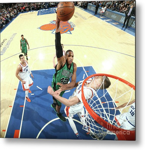 Nba Pro Basketball Metal Print featuring the photograph Al Horford by Nathaniel S. Butler