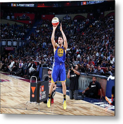 Event Metal Print featuring the photograph Klay Thompson by Nathaniel S. Butler