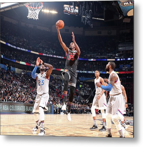 Event Metal Print featuring the photograph Kevin Durant by Nathaniel S. Butler