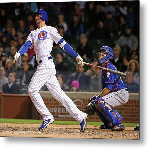 People Metal Print featuring the photograph Kris Bryant by Jonathan Daniel
