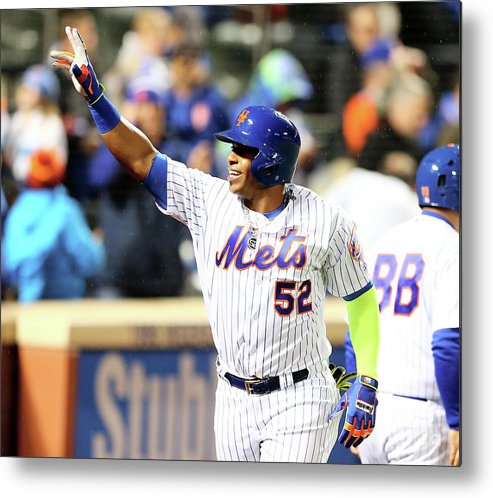 Yoenis Cespedes Metal Print featuring the photograph Yoenis Cespedes by Elsa