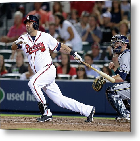 Atlanta Metal Print featuring the photograph Gerald Laird by Mike Zarrilli