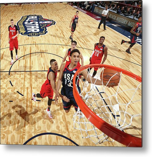Event Metal Print featuring the photograph Malcolm Brogdon by Nathaniel S. Butler