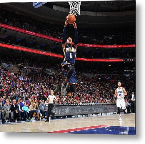 Nba Pro Basketball Metal Print featuring the photograph Monta Ellis by Jesse D. Garrabrant