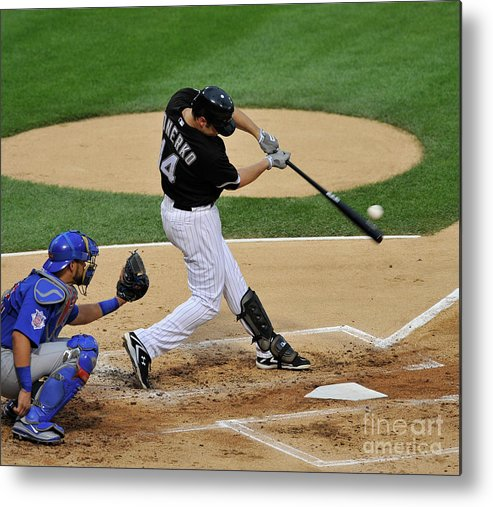 People Metal Print featuring the photograph Paul Konerko by David Banks