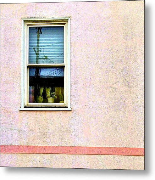 Pink Metal Print featuring the photograph Reflection by Julie Gebhardt