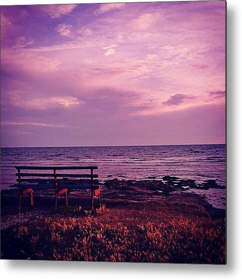 Love Metal Print featuring the photograph Sunset by Emanuela Carratoni