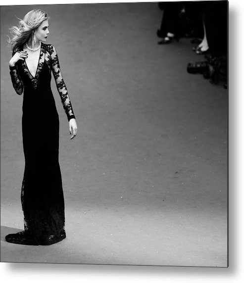 Film Festival Metal Print featuring the photograph An Alternative View - The 66th Annual by Vittorio Zunino Celotto