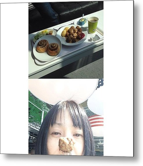 Frontback Metal Print featuring the photograph #frontback @frontbackapp by Tokyo Sanpopo