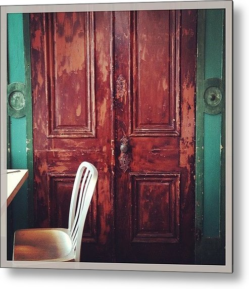 Metal Print featuring the photograph A Late Breakfast by Heidi Hermes