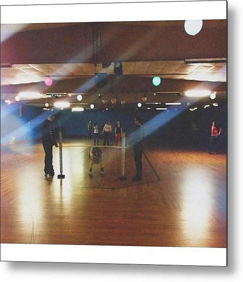 Eighties Metal Print featuring the photograph Annnddd...the Limbo On Skates! Wow...i by Joel Torres