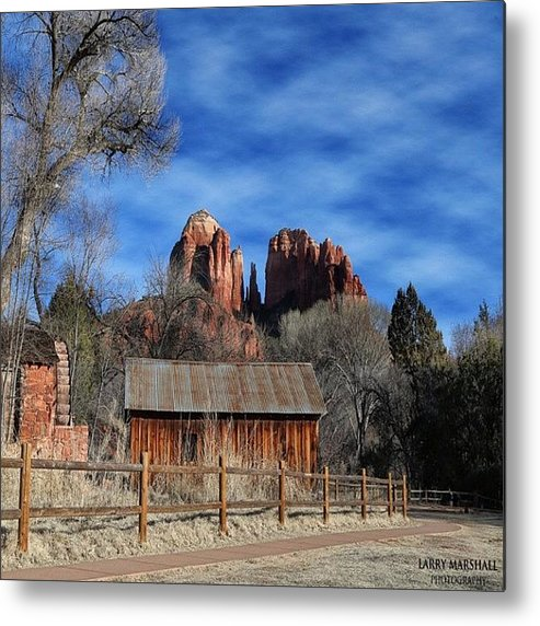 Metal Print featuring the photograph Another Beautiful Day During Our by Larry Marshall