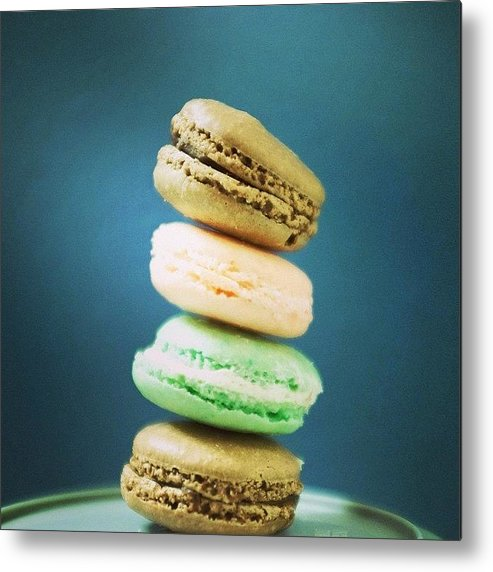 Food Metal Print featuring the photograph Being Friends With A Pastry Chef Is by Heidi Hermes