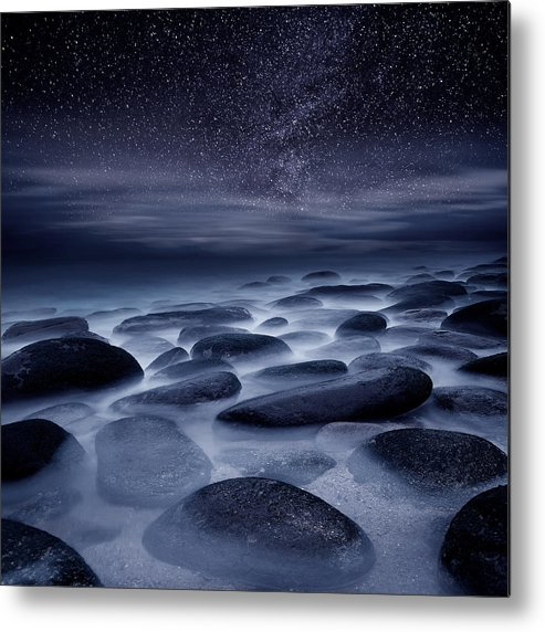 Night Metal Print featuring the photograph Beyond our Imagination by Jorge Maia