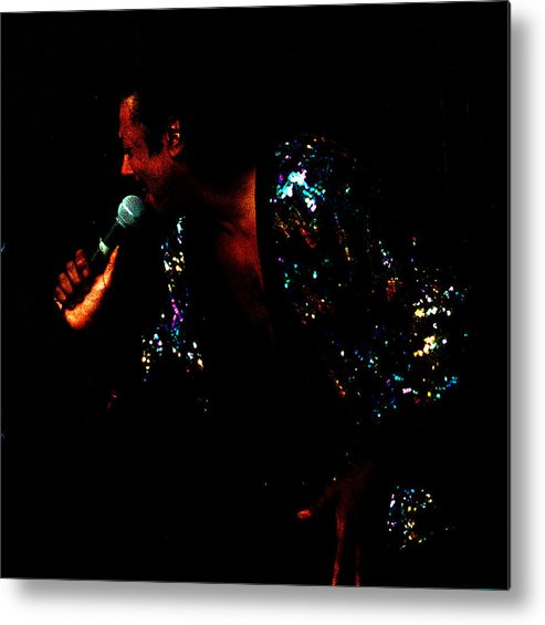 Blues Singer Metal Print featuring the photograph Blues Lover by Leon Hollins III