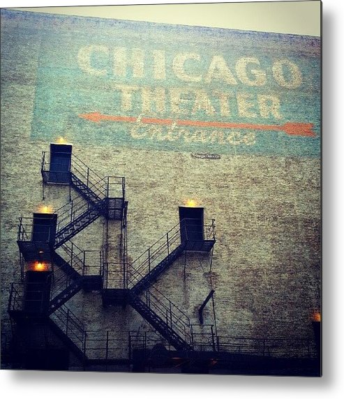 Chicago Metal Print featuring the photograph Discovering Ghosts In Back Alleyways by Jill Tuinier