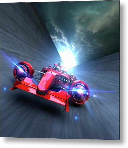 People Metal Print featuring the photograph Extreme High Performance by Colin Anderson