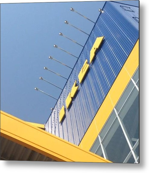 Metal Print featuring the photograph IkeA立川店オープン by Tokyo Sanpopo