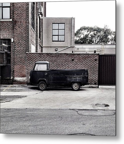 Car Metal Print featuring the photograph Lorry by Kreddible Trout