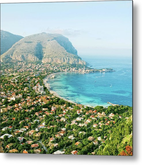 Sicily Metal Print featuring the photograph Mediterranean View by Peeterv