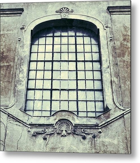 Building Metal Print featuring the photograph #mgmarts #building #old #architecture by Marianna Mills