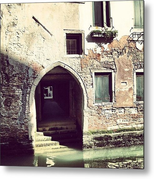 Europe Metal Print featuring the photograph #mgmarts #venice #italy #europe by Marianna Mills