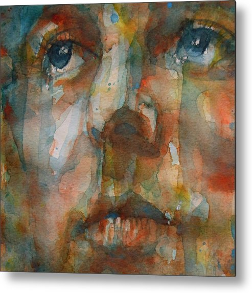 Paul Mccartney Metal Print featuring the painting Oh Darling by Paul Lovering