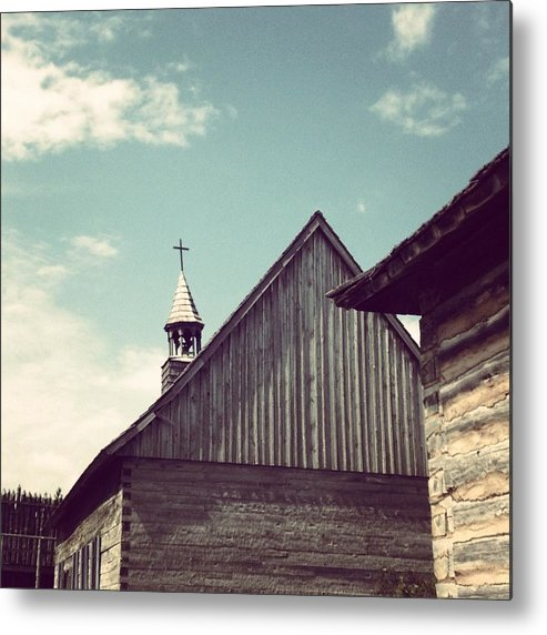 Church Metal Print featuring the photograph Old Time Religion by Christy Beckwith