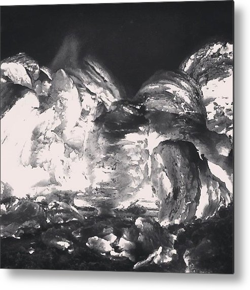 Fire Metal Print featuring the photograph On Fire by Illusorium Illustration
