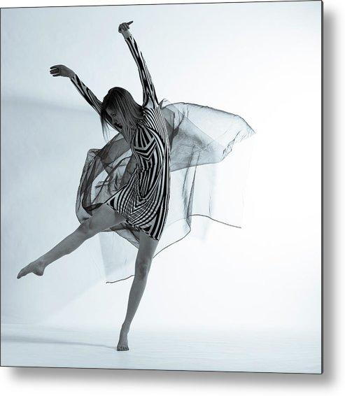 Ballet Dancer Metal Print featuring the photograph Photofusion Shoot Jan 2013 by Maya De Almeida Araujo