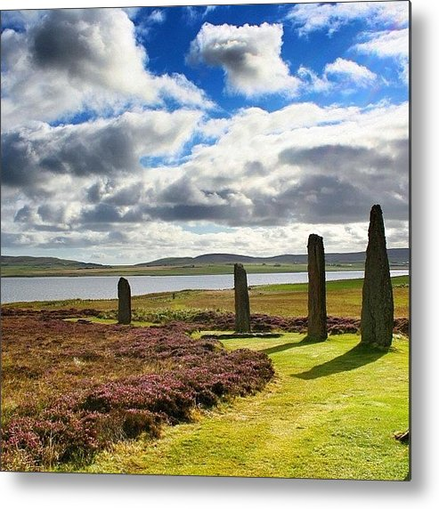 Shotaward Metal Print featuring the photograph Ring Of Brodgar - Scotland by Luisa Azzolini