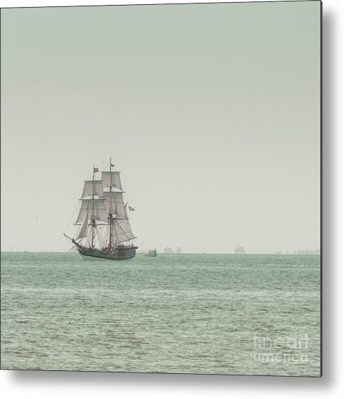Art Metal Print featuring the photograph Sail Ship 1 by Lucid Mood