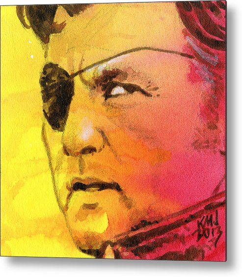Walking Dead Metal Print featuring the painting The Governor by Ken Meyer jr