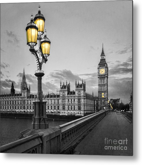 Westminster Metal Print featuring the photograph Westminster Morning by Colin and Linda McKie