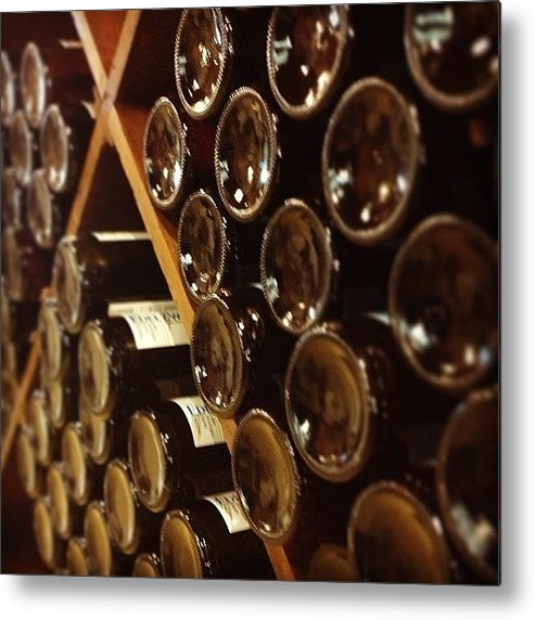 Wine Metal Print featuring the photograph Wine Tour by Christy Beckwith